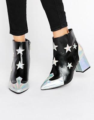 star cowboy boot