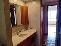 Chung cư The Manor 1 tầng thấp bán hoặc cho thuê nhà trống | phòng vệ sinh