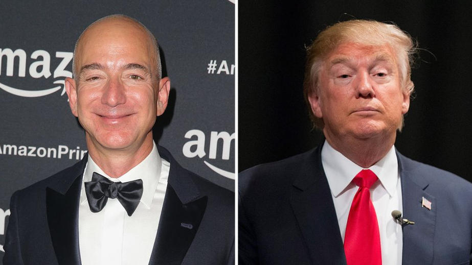 "Al ""vergognoso"" Donald Trump risponde il boss di Amazon Bezos"