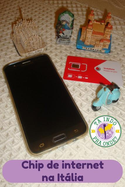 Comprando e usando chip de celular na Itália