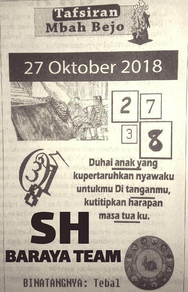 Forum Kode Syair Sgp Sabtu 27 Oktober 2018 Gosyair Sedia Kode Syair Sgp Ada Kode Syair Hk
