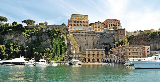 Pontos turísticos em Sorrento
