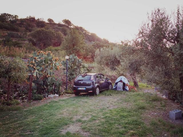 Camping namiot Alcantara