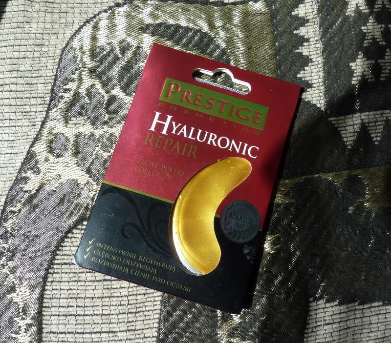 Prestige Hyaluronic Repair - hialuronowe płatki pod oczy