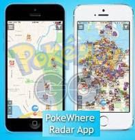 Aplikasi PokeWhere Real Time Untuk Android dan Iphone