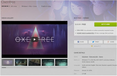 Download Game Oxenfree Gratis Full Version