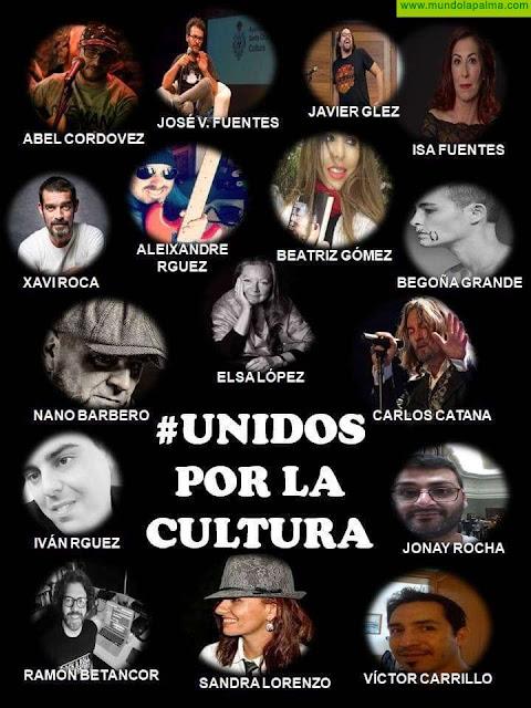 """Los artistas palmeros """"Unidos por la cultura"""""""