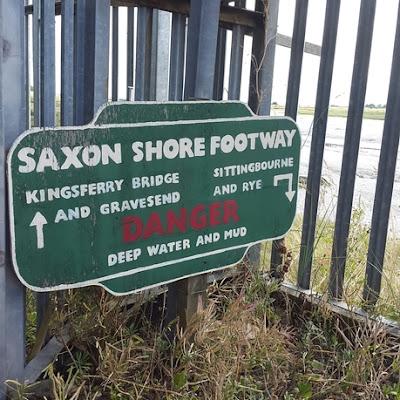Whoopidooings: Rocking Friday - Saxon Shore footway