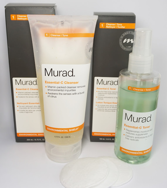 Review: Murad - Essential-C Cleanser & Toner