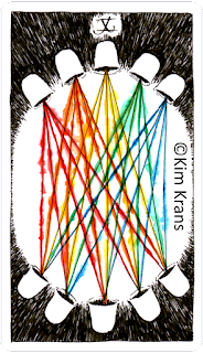 The Wild Unknown Tarot ten of cups