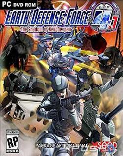 غلاف لعبة EARTH DEFENSE FORCE : قوات المدافعة عن الأرض