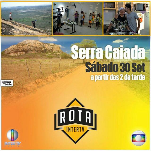 Serra Caiada no ROTA INTER TV