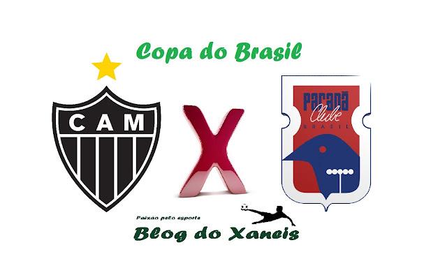 Acompanhe o jogo entre Atlético MG x Paraná Clube ao vivo - Copa do Brasil