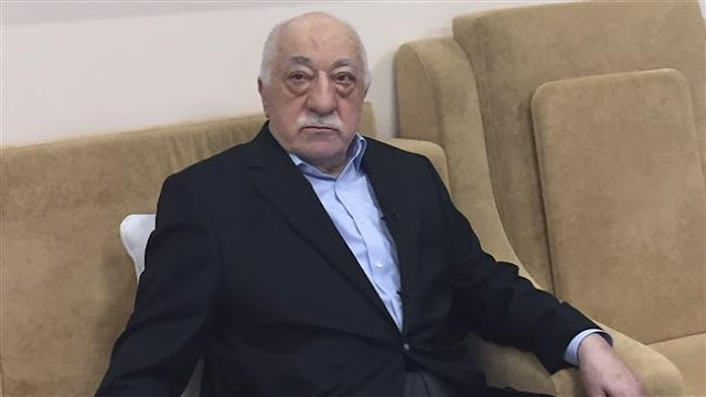 Turkish government asks US to detain Pennsylvania-based opposition figure Fethullah Gulen for 'ordering' July coup d'état in Turkey