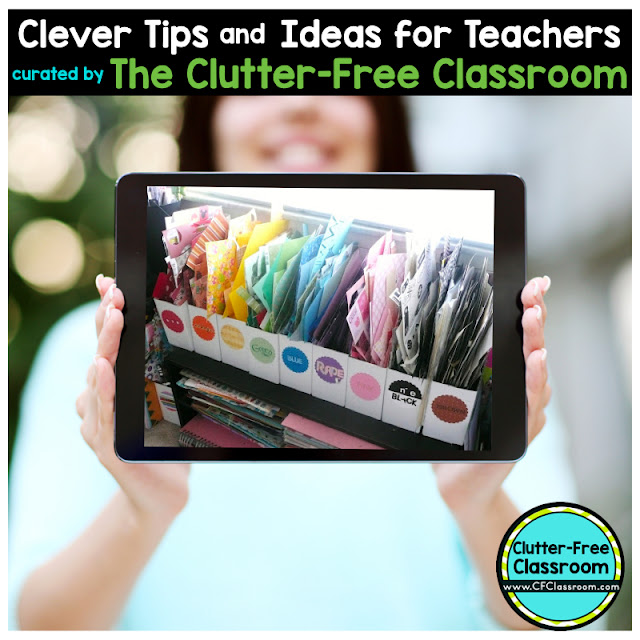 Are you wondering how to organize scrap papers in the classroom so your students can use them later? This classroom organization tip will help.