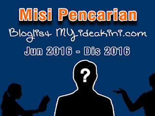 Misi Pencarian Bloglist MYiDEAKiNi