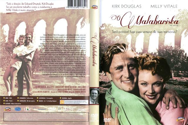 Capa DVD O Malabarista