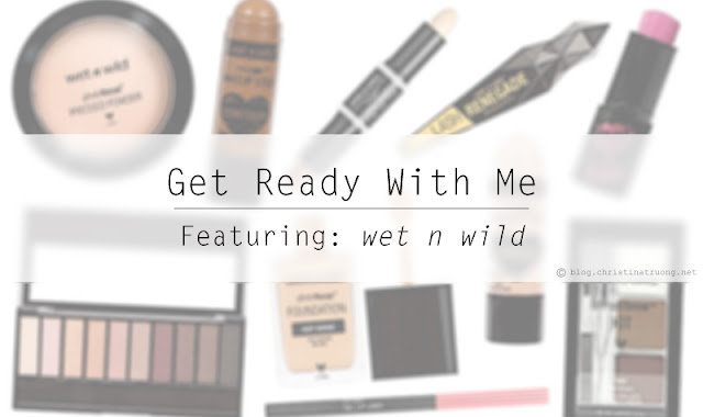 Get Ready With Me featuring wet n wild beauty. Soft bold makeup look