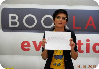 Luiza Mitu la BookLand Evolution Craiova
