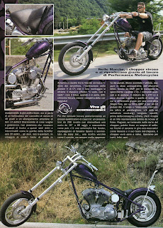 sportster chopper on freeway magazine 1999