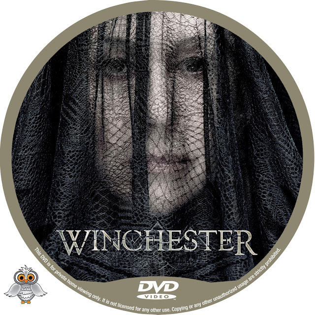 Winchester DVD Label