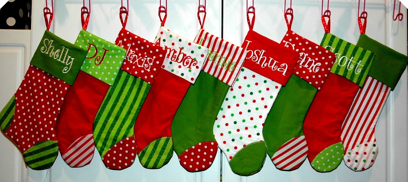 Guest Post How To Make Your Own Christmas Stockings