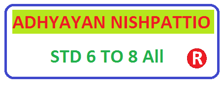Adhyayan nispattio std 3 to 8 All for new syllabus ncert