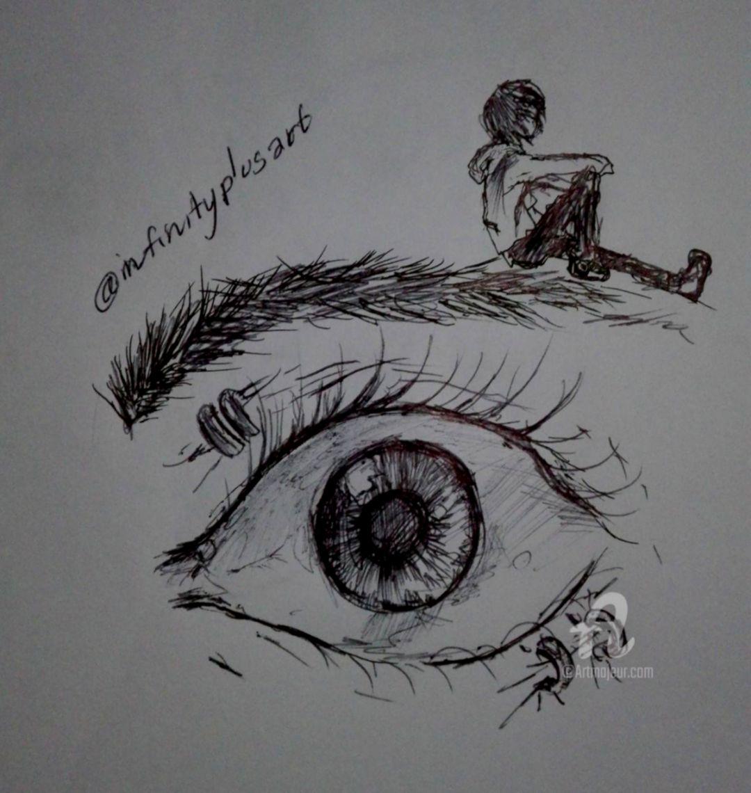 Abstract Eye Drawing Viva Wallpapers