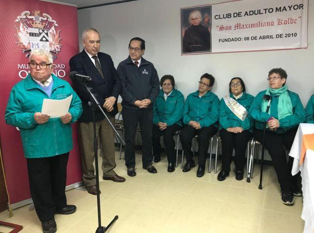 Inauguran sede social para adultos mayores en Maximiliano Kolbe Alto