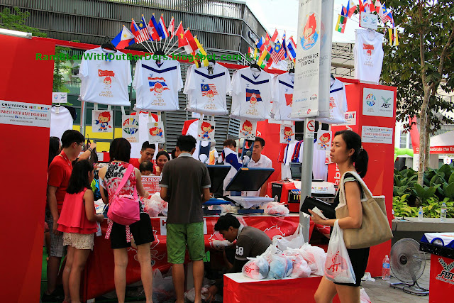 Souvenir stall, SEA Games, Sports Hub, Singapore