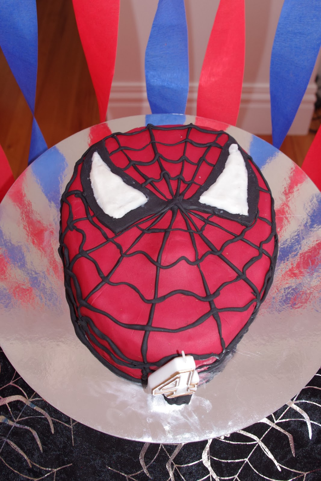 spiderman template for cake - the noatbook how i made a spiderman cake