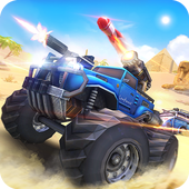 Overload: 3D MOBA Car Shooting MOD APK v1.1 + OBB Data Terbaru