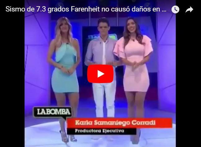 Sismo de 7.3 grados Fahrenheit no causó daños en Venezuela según esta tipa