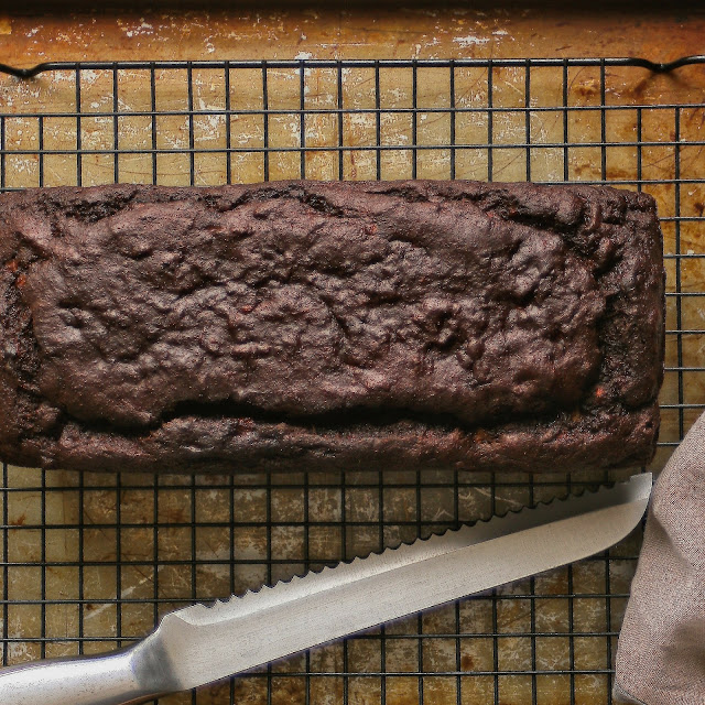 Paleo and gluten free banana bread.
