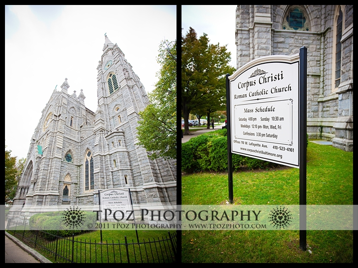 corpus christi church wedding photo