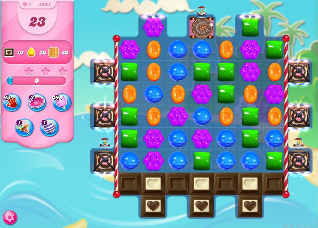 Candy Crush Saga level 4031