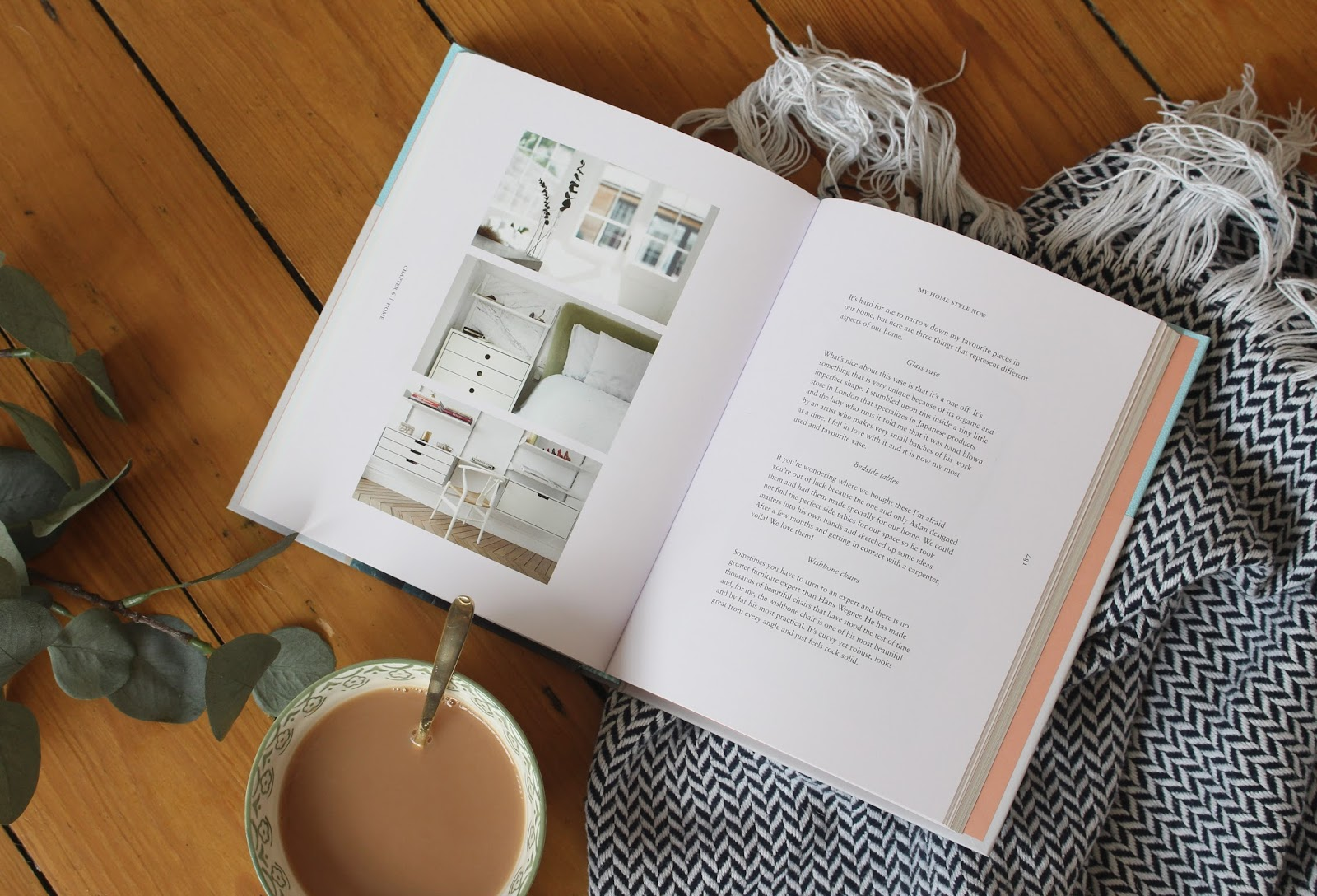 who doesn't love to sit down with a good book and a cup of tea...?
