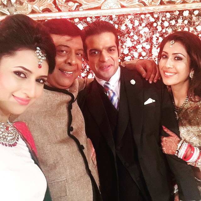 my awesome three'... u hv new tags attached now- sas ur , ji, dama ad , n bah u ,.... may u experience the most beautiful relationships ever! @abhhaybhaargava @karan9198 @bumpsndents