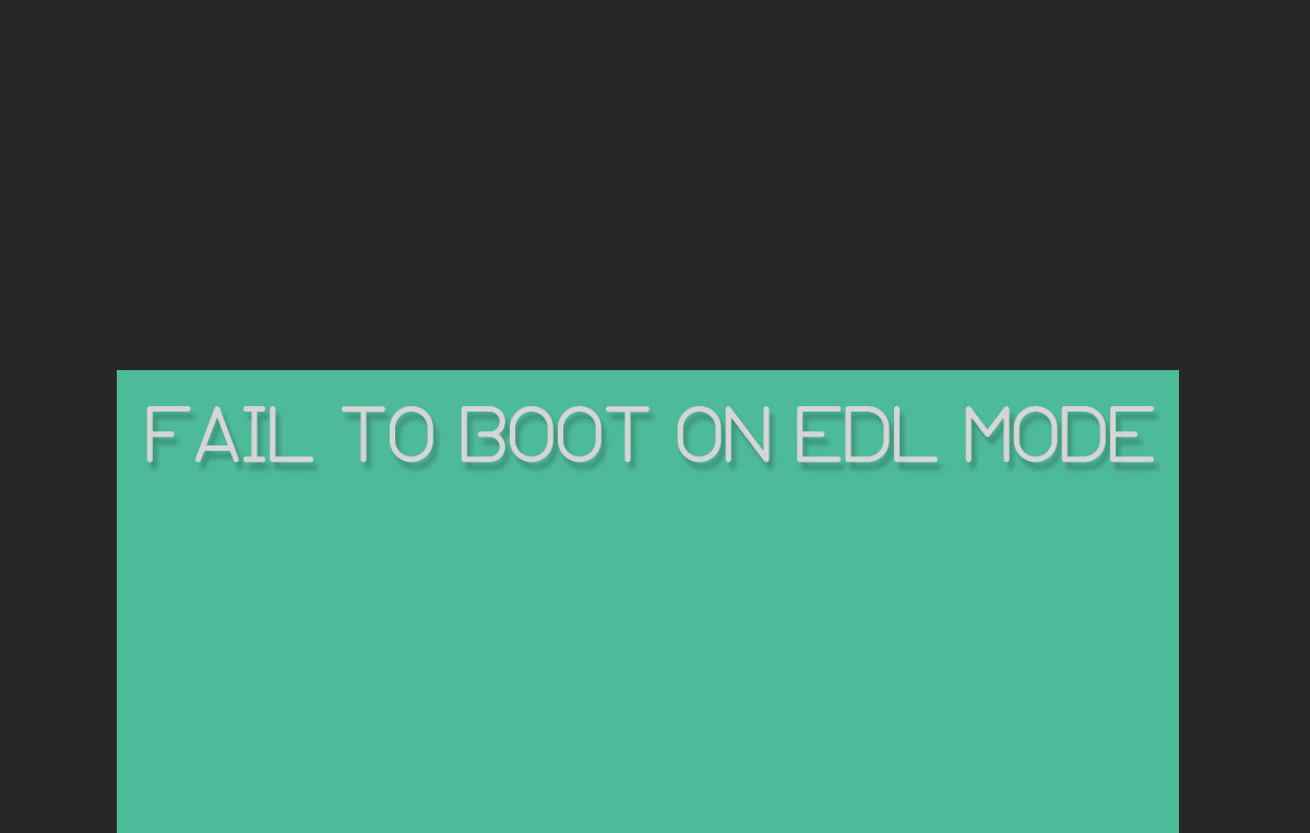 Cause and solution to fail to enter EDL Xiaomi | ANDROIDFOOT
