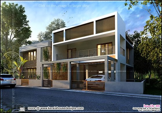 Contemporary house in Cochin