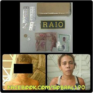 POLICIAIS DO RAIO APREENDEM MAIS DE MEIO QUILO DE MACONHA