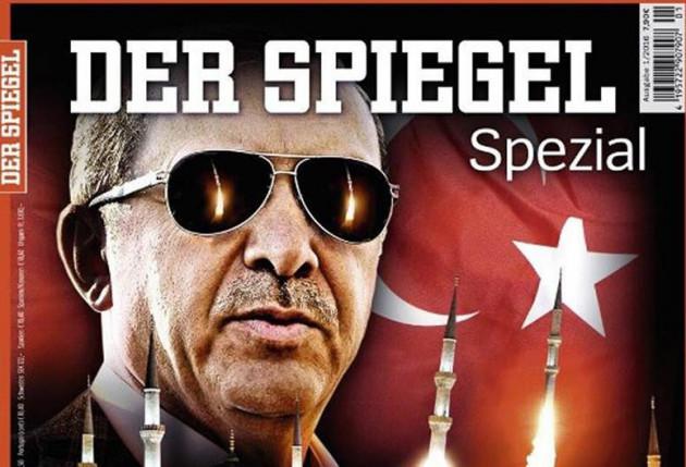 """Τουρκία: """"Προκλητικό"""" το ειδικό τεύχος του περιοδικού Der Spiegel"""