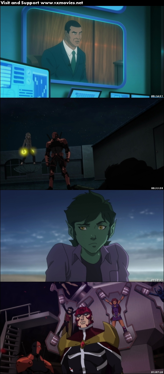 Teen Titans The Judas Contract 2017 English 720p BRRip