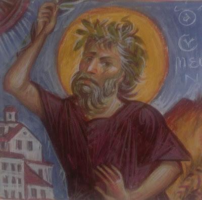Αποτέλεσμα εικόνας για Αγ.Ιωάννη του ασκητή και του Αγ.Συμεών του δια Χριστόν σαλού