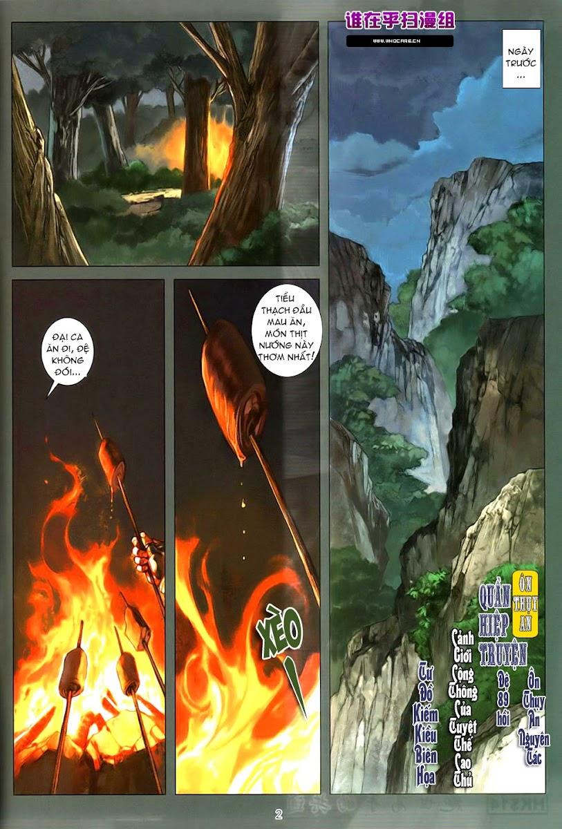 Ôn Thụy An Quần Hiệp Truyện chap 89 trang 2