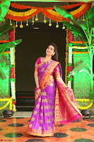 Anchor Manjoosha in Beautiful Kanjiwaram Saree at At Sankarabharanam Awards 2017 ~  Exclusive 005.JPG