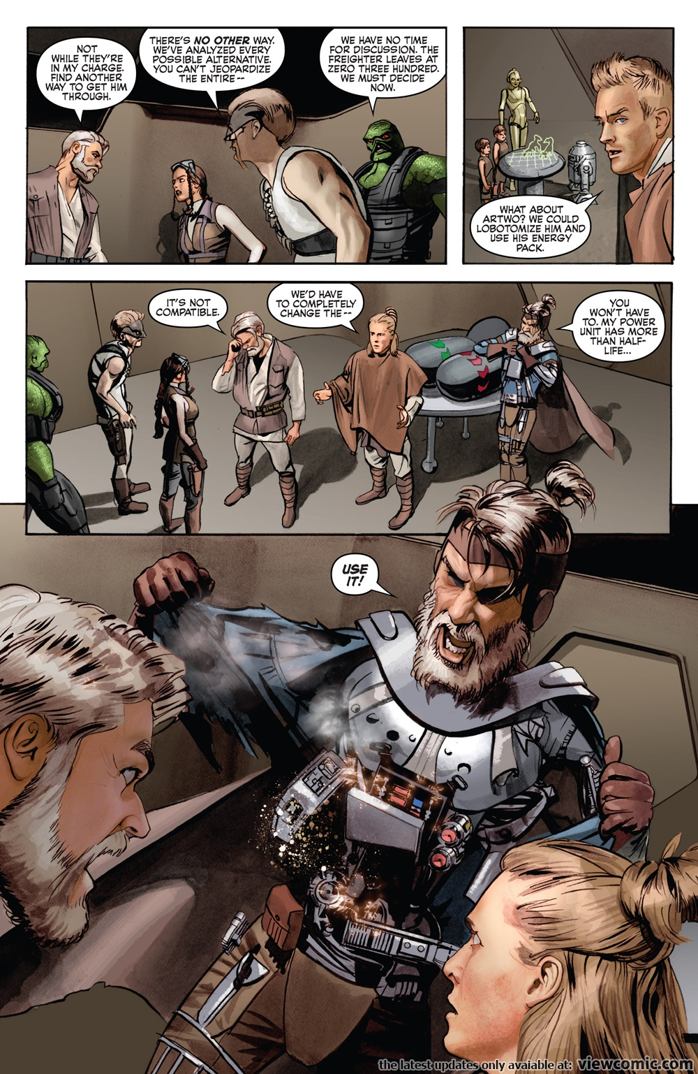 The Star Wars 004 (2013) ……………………… | Viewcomic reading