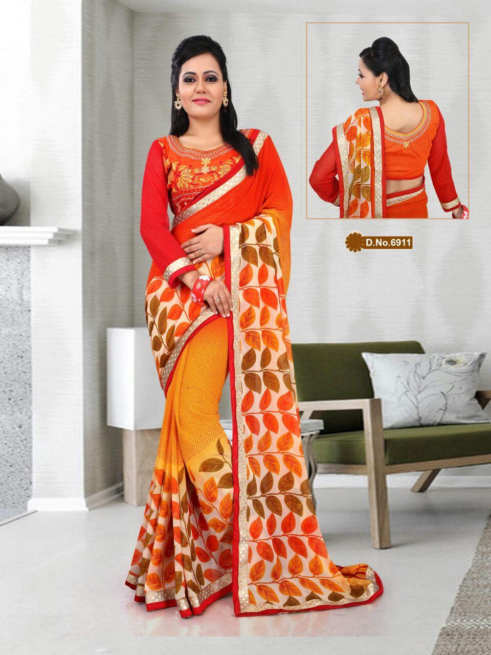 Celebration-3- Stylish  Designer Latest Collection of Sarees