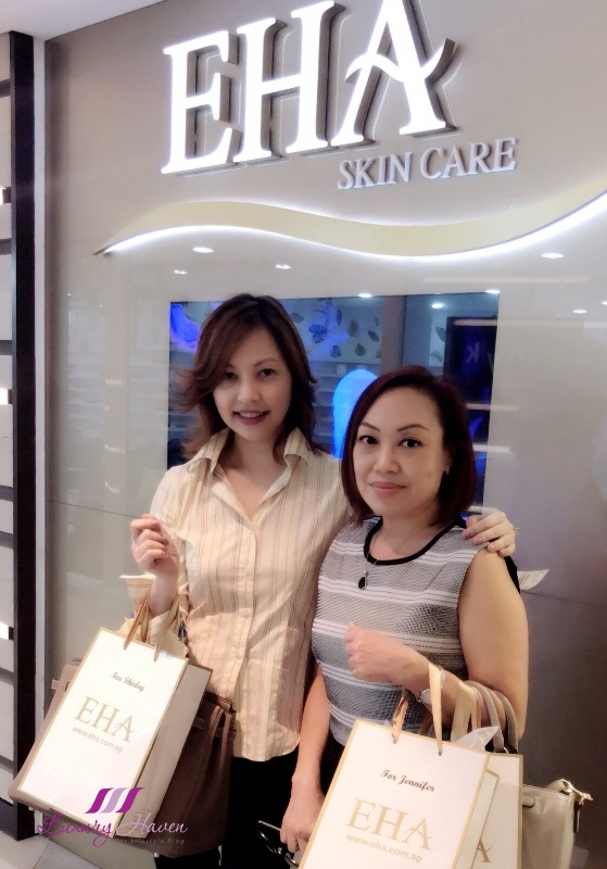 eha skincare media event klenskin shower on sunscreen