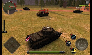 Games TANKS OF BATTLE: WORLD WAR 2 Apk